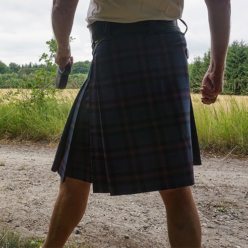 Tailored skirt, Elliott tartan