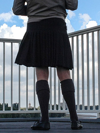 Mercy black kilt