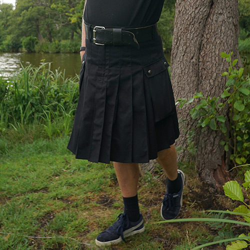 Muss tragen mann rock Wie ich